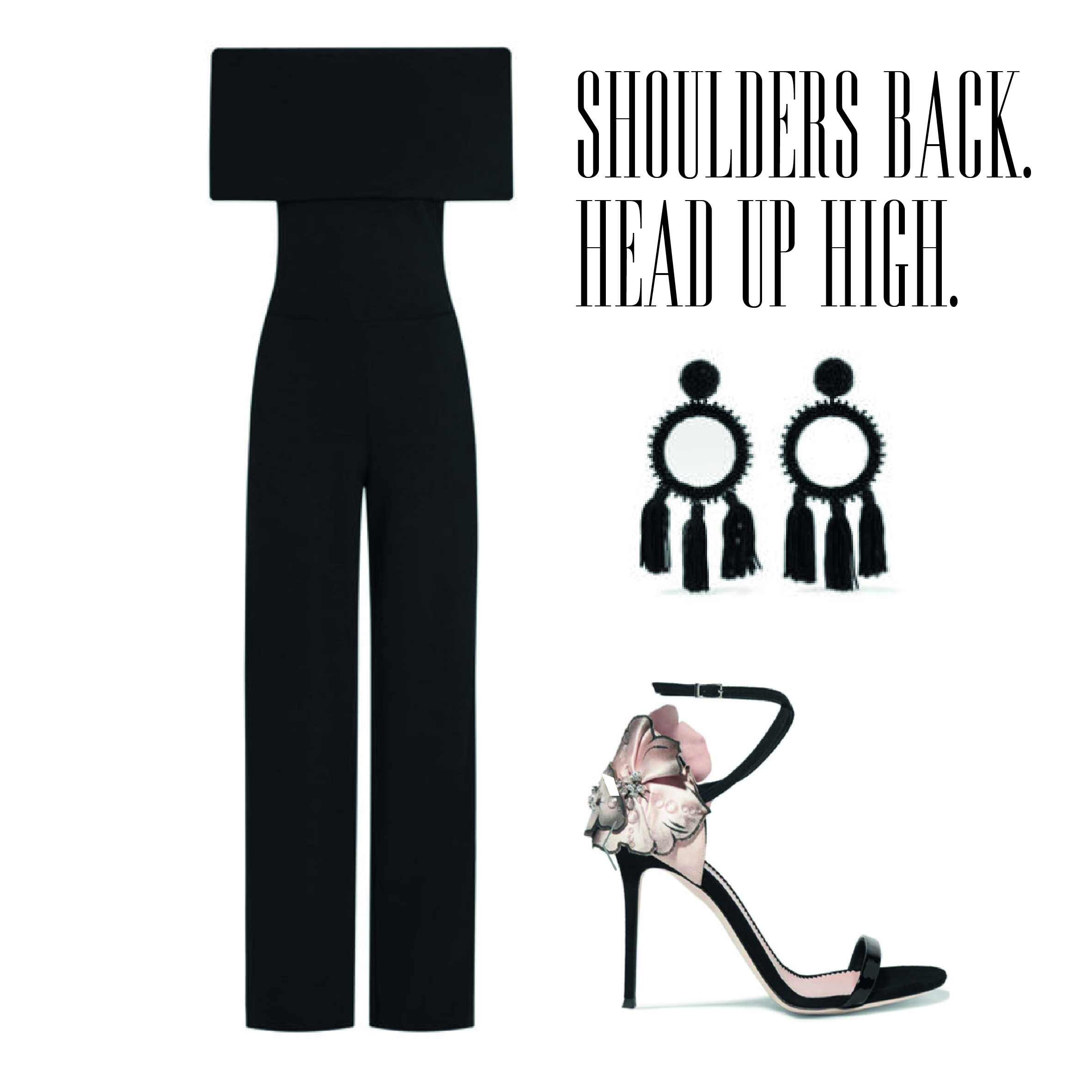 Shoulders Back, Head up High!