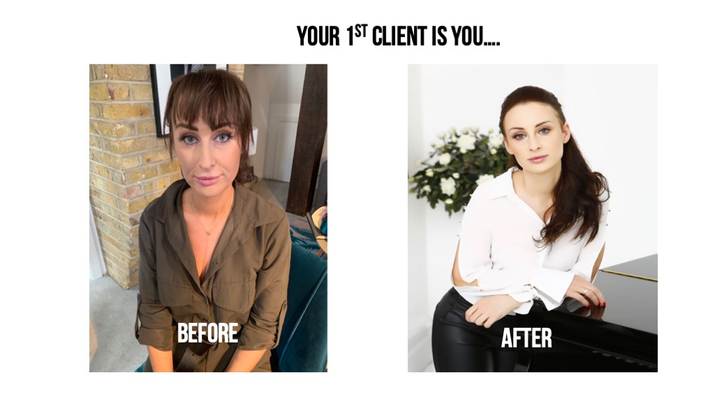 Your first client is you!