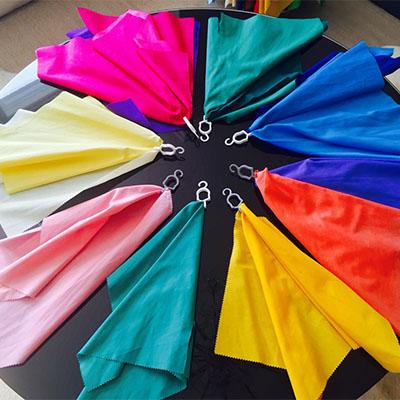 Colour Analysis Sample Fabrics